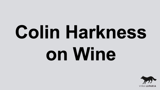 Colin Harkness on Wine